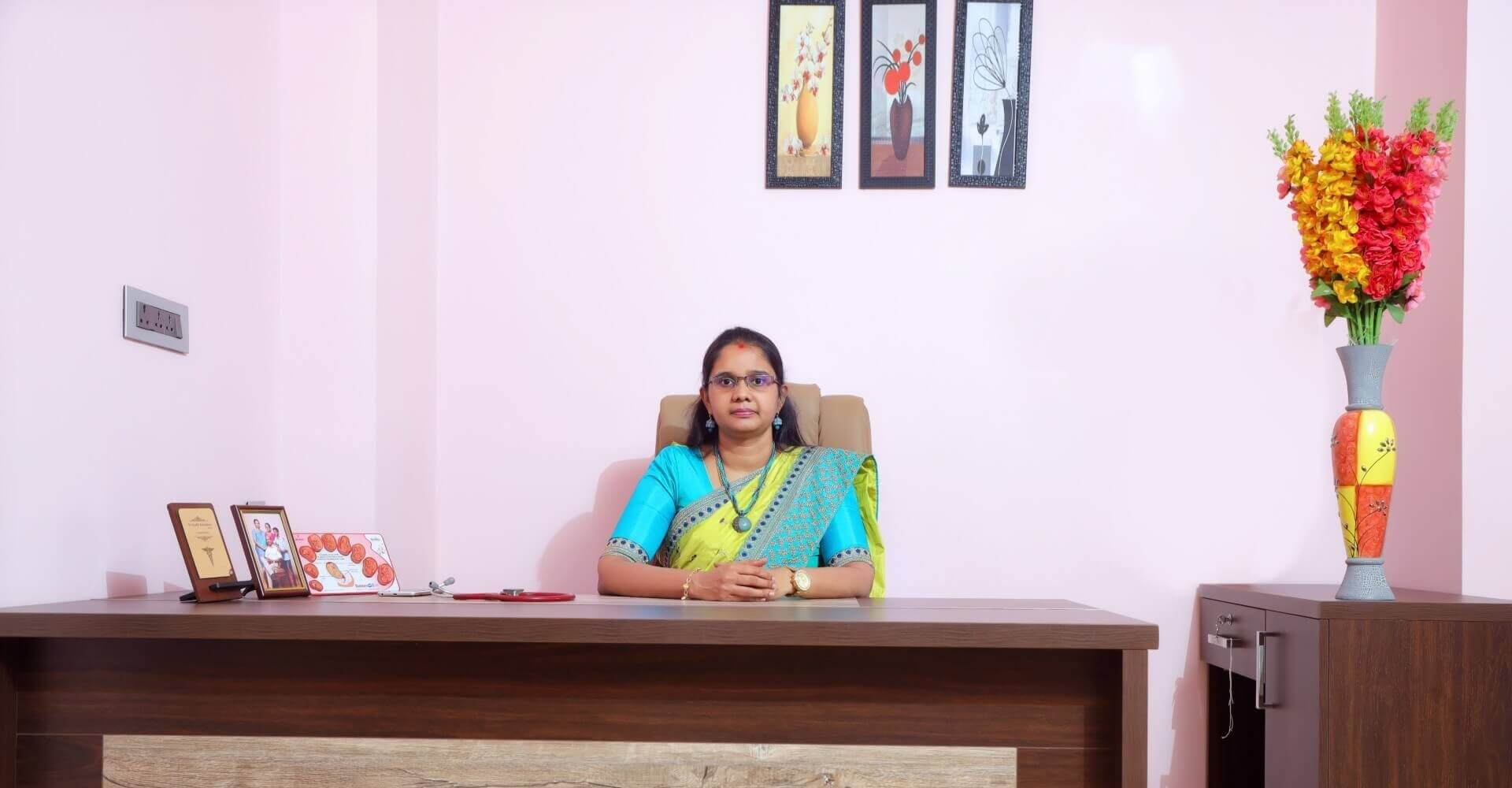 Dr. Ananthi Aravind at IVF OP Room
