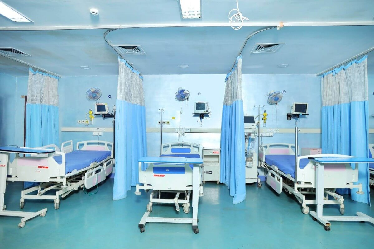 Intensive Care Unit Lister Hospitals Marthandam
